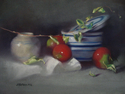 Lady Apples and the Salt Crock (thumbnail)
