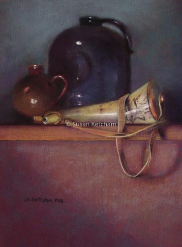 Powder Horn by Susan Ketcham