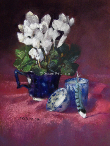 Cyclamen by Susan Ketcham
