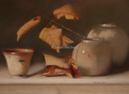 Pots and Crisps by Susan Ketcham, PSA