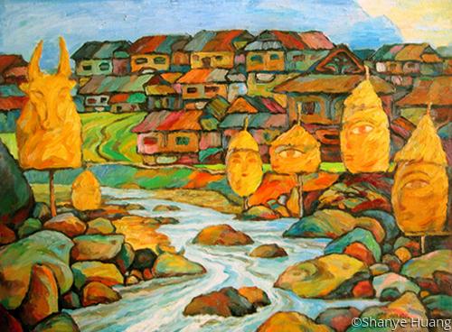 A  Village (large view)