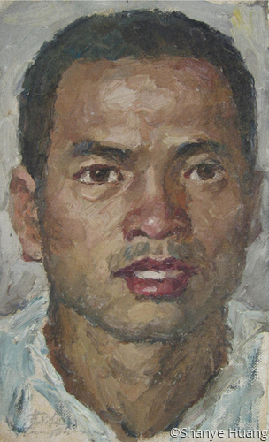 Portrait of a Zhuang man (large view)