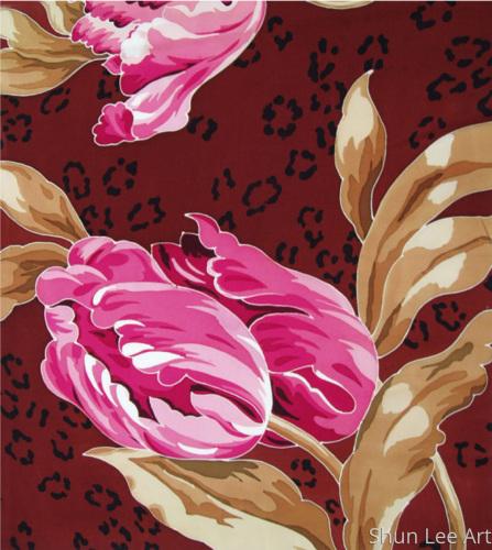 Tulip on Skin