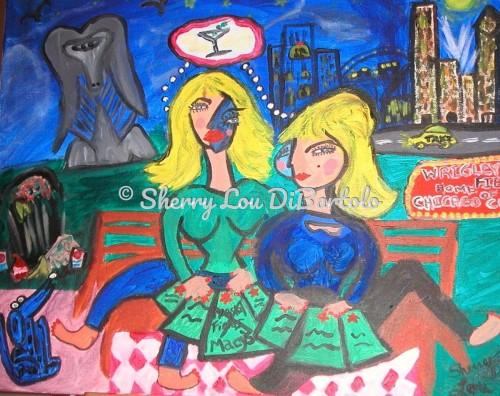 Chicago Girls Day Out  by Sherry Lou DiBartolo