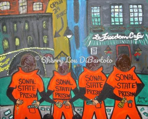 Last Night of Freedom by Sherry Lou DiBartolo