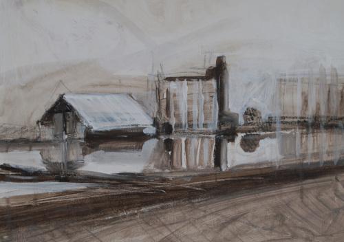 I-5 First Sketch by Stacey Pollard