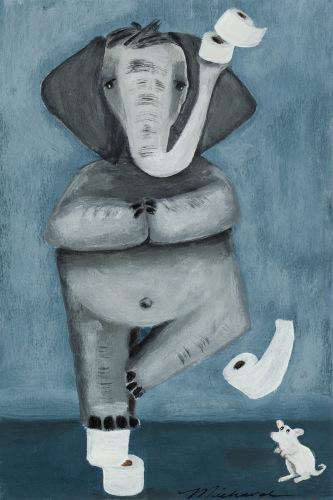 Namaste by Shari Michaud
