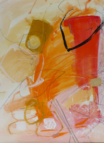 Soft Fall by Susan Ulrich : abstract painting