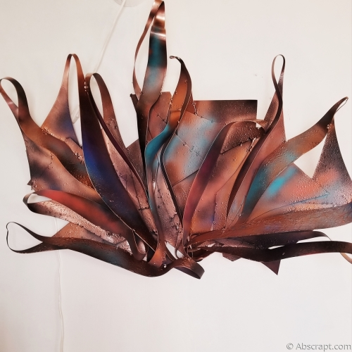"Metal Wall Art ""Rainbows and Butterflies"" by Sarah Mulligan"