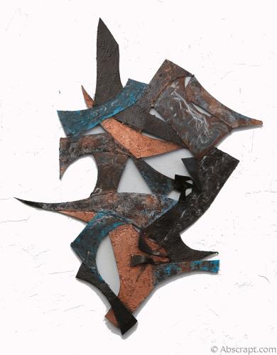 """Equals"" Metal Sculpture by Sarah Mulligan"