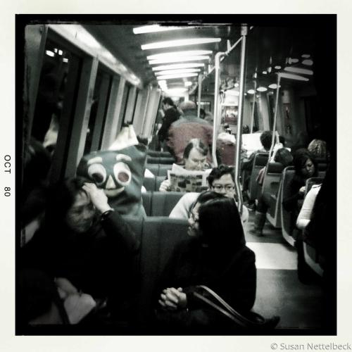 Gumby on Subway