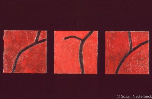 Red Triptych