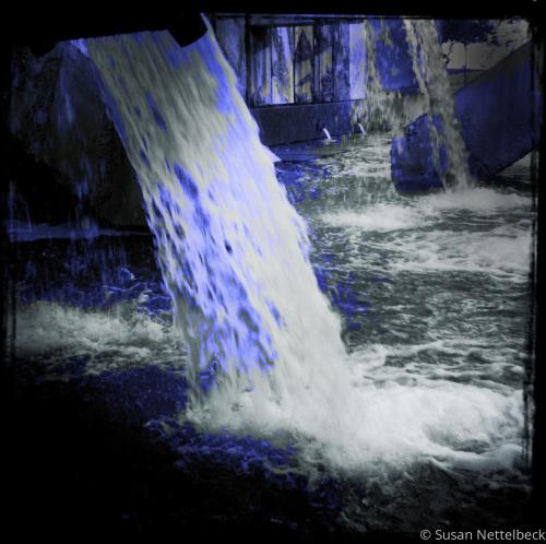 Blue Waterfall 3