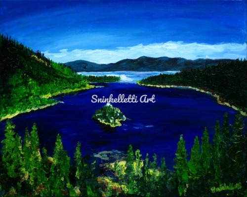Jewel of the Sierra by Artist Nick Sninkelletti - Official Site