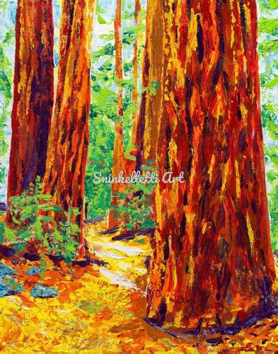 A Walk Among Giants by Artist Nick Sninkelletti - Official Site