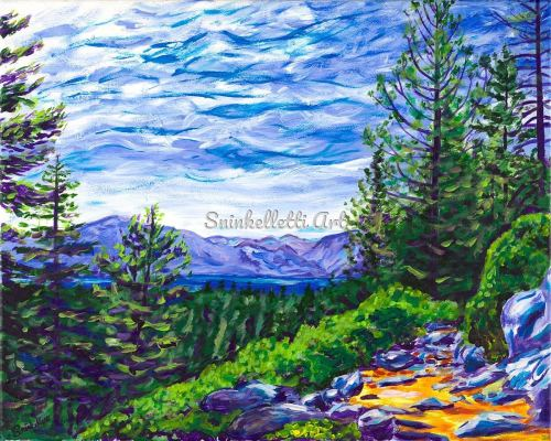 Rim Trail by Artist Nick Sninkelletti - Official Site