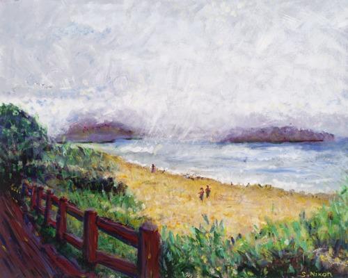 Pacific City Beach