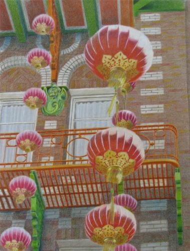 Chinatown Lanterns #2