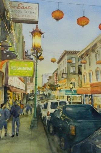 Chinatown Lanterns #3