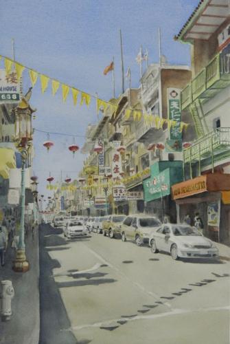 Chinatown Lanterns #4