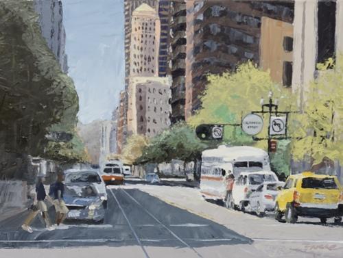 Market Street Traffic