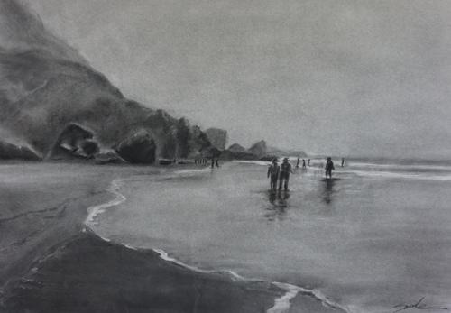 Stinson Beach in the Fog
