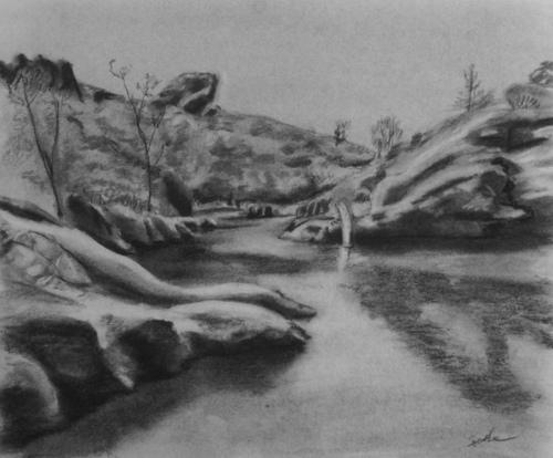 Lake at the Pinnacles