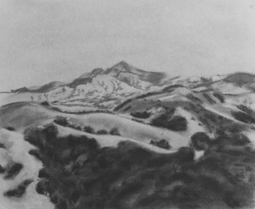 Mt. Diablo from Sibley