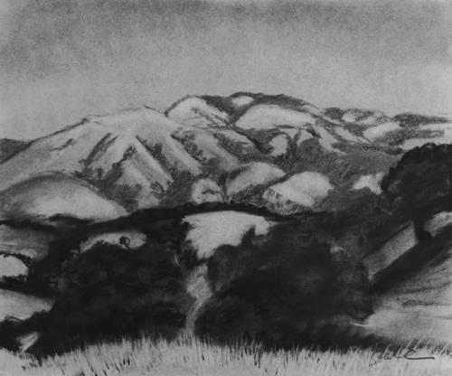 Diablo Hills From Castle Rock