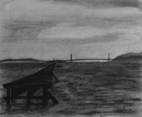 End of the Berkekely Pier