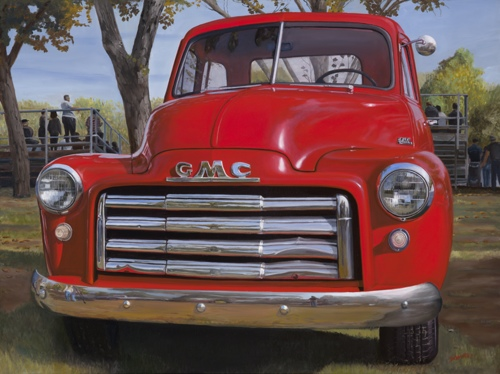 53 GMC by Soenke Fine Art