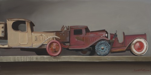 Toy Truck Trio