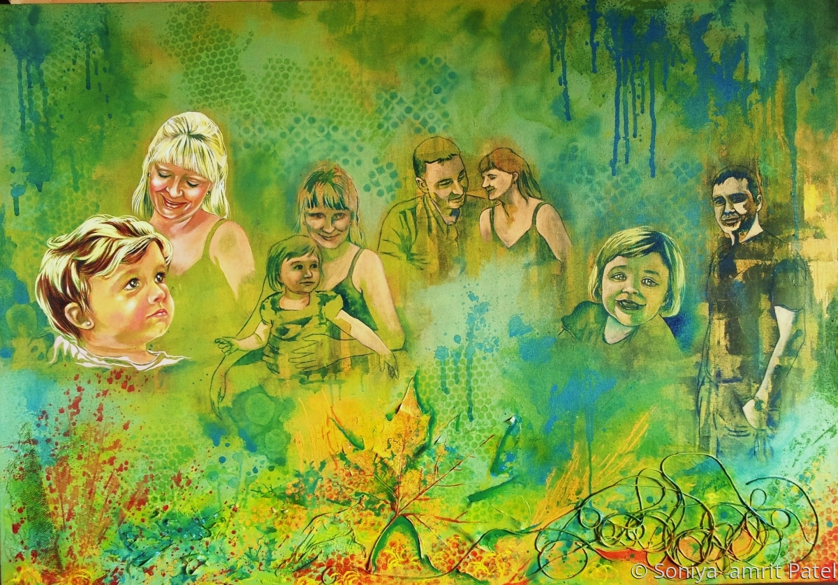 Enchanted Forest (Family Portrait) (large view)