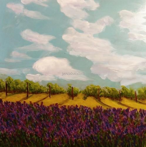Lavender Vines