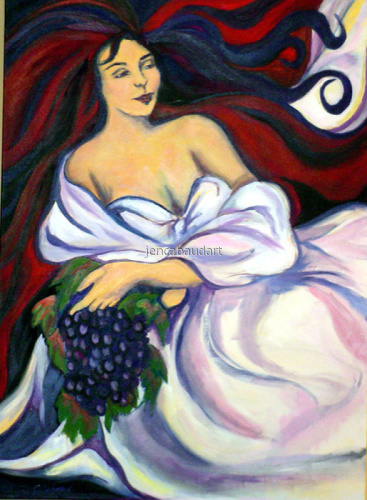 Goddess of the Grapes