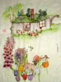 a quiet cottage scene (thumbnail)