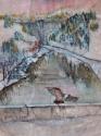 eagle over the dam (thumbnail)