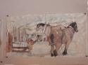 horse logging in Idaho (thumbnail)