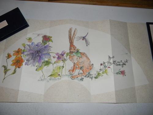 hare in my garden