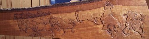 horses run free unbridled