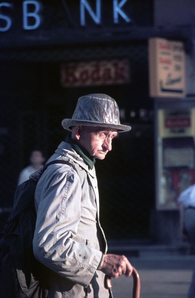 Plastic-covered Hat, Philadelphia, 1972 (large view)