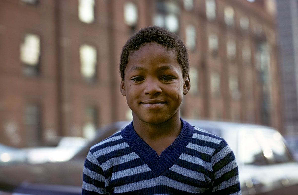Young Boy, Philadelphia, 1973 (large view)