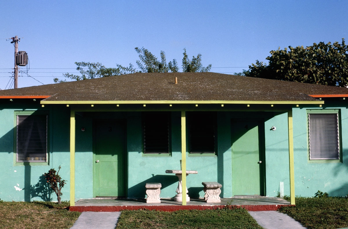 Turquoise House, Miami, 1975 (large view)