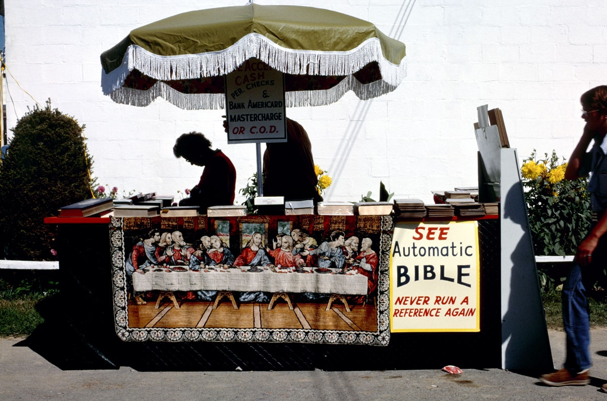 Automatic Bible, West Virginia State Fair, 1978 (large view)