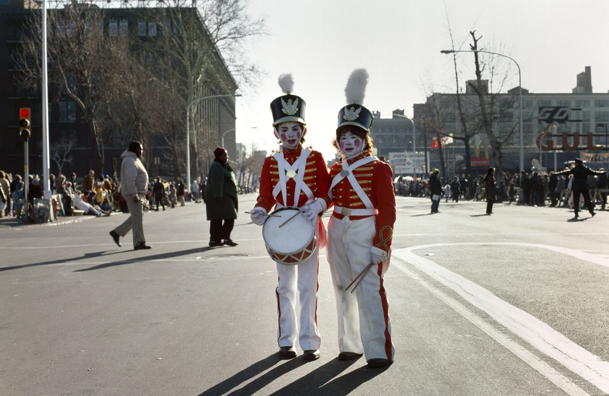 Drummer Boys, Mummers Parade, Philadelphia, 1977 (large view)