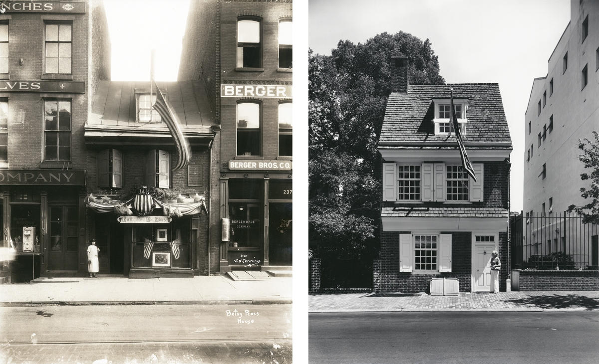The Betsy Ross House, 200 Block Arch Street, Philadelphia, PA (large view)