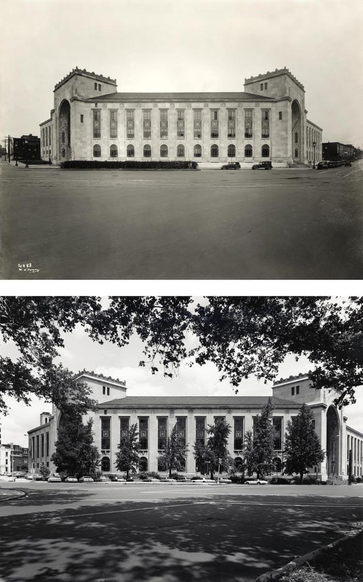 The Fidelity Mutual Building, 25th Street and Fairmount Avenue, Philadelphia, PA (now the Perelman Building of the Philadelphia Museum of Art (large view)