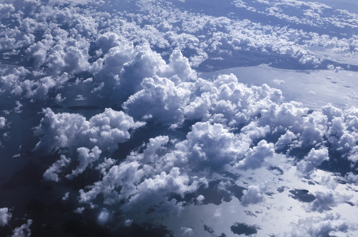 Clouds, Pacific Ocean, 1977 (large view)