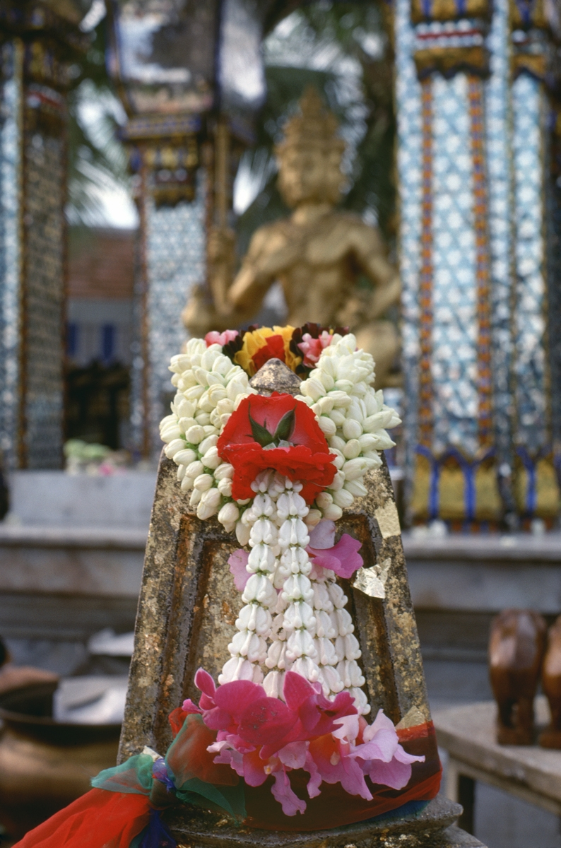 Temple Offering, Bangkok, 1977 (large view)