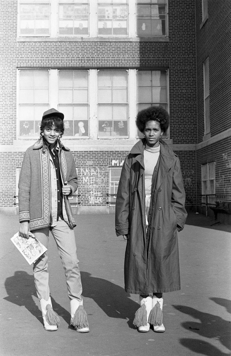 Two Schoolgirls, West Philadelphia, PA, 1970 (large view)